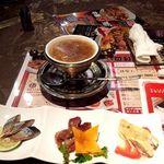 kaisenyakuzenchuukatonfon - ランチ  前菜とスープ