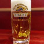 華龍飯店 - 141019 セットの生ビール