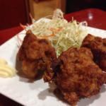 華龍飯店 - 141019 セットの鶏から揚げ