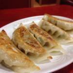 華龍飯店 - 141019 セットの餃子