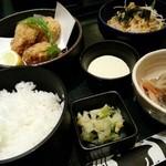 鯛めし ちどり - 料理写真:牡蠣フライ御膳