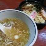 しお貫 - つけ麺(麺かため)2014.10.15
