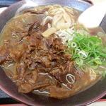 徳島ラーメン奥屋 - 肉入中華そば大 ¥756