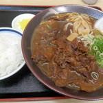 徳島ラーメン奥屋 - ご飯小¥162+肉大