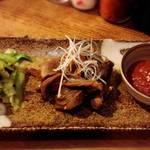 升源 - 牛スジの煮込み、お味噌付き!