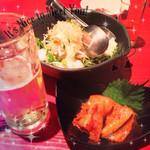 あぶり焼 もも蔵 - 大根山芋サラダ大好き♡