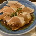 Tachibana - 鶏わさ of 3種盛