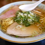若竹食堂 - 料理写真:中華そば550円