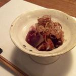 角壱 - メジマグロの藁のスモーク