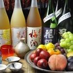 焼とんyaたゆたゆ - 女性のお客様におすすめの果実酒もありますよ♪