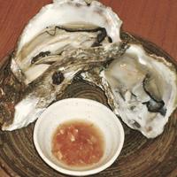 角壱-岩牡蠣と特製チリソース