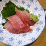 立ち寿司 まぐろ一徹 - 中トロのお造り