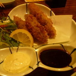 魚や 旬平 - 牡蠣フライ