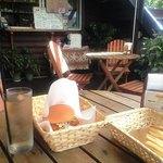 ハートロックカフェ - サメバーガーのドリンクセット