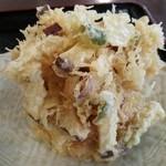 31737082 - 野菜かき揚げ(120円)2014年10月