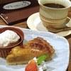 Agurigaden - 料理写真:ケーキセット(オレンジタルト)