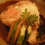 31738597 - 真鯛のあら炊き。写真で伝わらないのが残念ですが豪快!!!