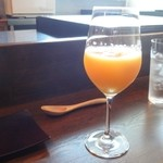 フレンチなかがわ - オレンジジュース