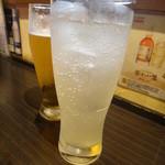 31739780 - 生ビールとレモンサワー