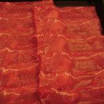 鍋ぞう 本川越店 - 牛肉薄切り