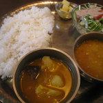 ナマステ キッチン - ネパール定食