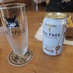 ダヤンカフェ - ノンアルコールビール350円