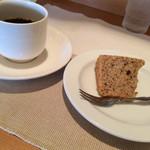 ポンムドテール - シフォンケーキ&コーヒー