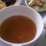 レストラン道 - ハンバーグオムライスのスープ