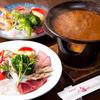 醤油料理 天忠 - 料理写真:焦がし醤油フォンデュ「近江逢盛り合わせ」と「海鮮盛り合わせ」