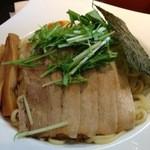 翔華 - 翔華の豚とお魚つけ麺トッピング(14.07)