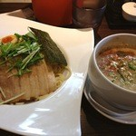 翔華 - 翔華の豚とお魚つけ麺900円