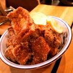 くりのすけ - 鶏の唐揚げ。