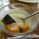 タイカレー - かぼちゃとココナッツミルクのデザート