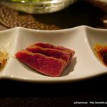 焼肉とワイン 醍醐 - コールドステーキ