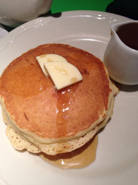 タブレスカフェ - メープルのパンケーキ