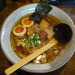 麺や 桜風 - らーめん+味玉子