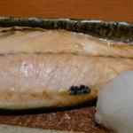 魚串 然 - 鯖の塩焼き