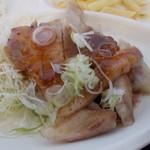 お肉の産直 ヴィラ工房 - お肉の産直 ヴィラ工房 ポークステーキアップ