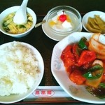 鳳凰閣 - 酢豚定食