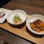 アンティカブラチェリアベッリターリア - 本日の前菜盛り合わせ3種類