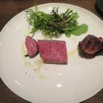 アンティカブラチェリアベッリターリア - 処女牛の炭火焼きステーキ