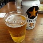 玉五郎 - 缶ビール