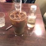 フランボアーズ - アイスコーヒー