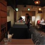 アナログ カフェ ラウンジ トーキョー - 店内パノラマ