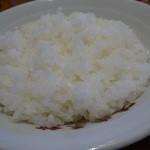 味楽菜館 - ライス