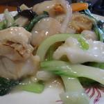 味楽菜館 - 海鮮焼きそばアップ