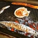 喰い処 鮭番屋 - そろそろ焼き上がりかな