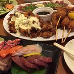 やんちゃくれ - 飲み放題コースの料理も豊富で満足できます!