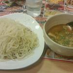 東京とんこつらーめん 翔 - えび塩つけ麺842円