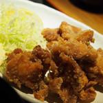 テング酒場 - 鶏の唐揚げセット